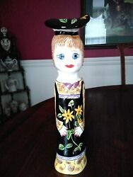 Patty Tall Figurine Vase Susan Paley Ganz 12 Tall Perfect Condition