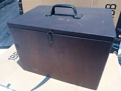 Antique Apothecary Case With Vintage Antique Surgical Equipment Included