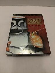 Lucasfilm Animation Star Wars The Clone Wars Complete Season 1 One On Dvd 2009
