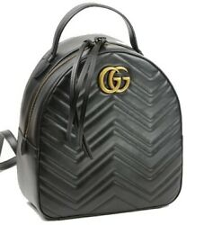 Bag Backpack Gg Marmont 476671 Free Shipping No.543