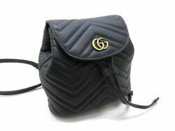 Gg Marmont Mini Rucksack 528129 Backpack Free Shipping No.584
