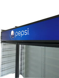 Idw G-49 Pepsi Commercial Refrigerator