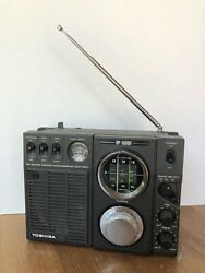 Vintage Toshiba Rp-1600f Solid State Radio Tested And Working