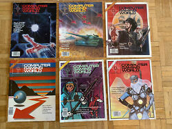 Computer Gaming World And Computer Games Magazine Vintage Lot Of 61984