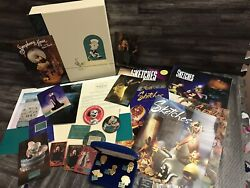 Lot Of Walt Disney Classics Collection Sketches, Postcards, Pins, Magnet And Misc.
