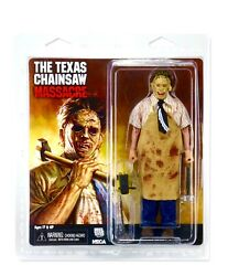 Leatherface Retro Clothed Action Figure Texas Chainsaw Massacre Neca Reel Toys
