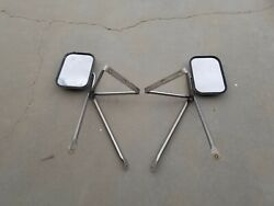 1970s 1980s Ford Truck And Van Camper Towing Mirrors 60s-90s Gmc Chevrolet Dodge