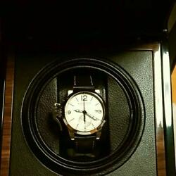 Graham Chrono Fighter 1965 2cxas New Menand039s Watch Case Back Engraving Is Beautifu