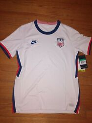 Exclusive Nike 20/21 Usnt National Soccer Jersey Youth Size Xl Usa Cd1060-100