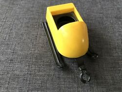 Vintage Fisher Price Little People 705 Mini Snowmobile Yellow Side Car