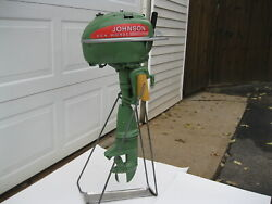 New Vintage Looking Outboard Motor Stand Boat Johnson Evinrude Mercury Elto