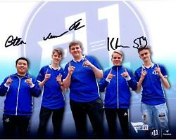 E11 Gaming 2019 Battle Royale Championship Team Signed 8 X 10 Collage Photo