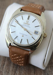 Omega Constellation 14k Automatic Vintage Menand039s Watch 1969 Serviced + Warranty
