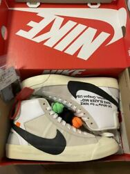 Men 10us Extreme Beauty Used The 10 Nike Blazer Mid Off White Off-white Us10 Air
