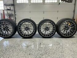 Bmw 788m 19 Oem Wheels With Re71-r Tires Tpms And Center Caps From M2c