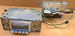 Vintage Orig Corvette Delco Factory Stereo Am/fm Radio - Fits 68-76 Ncrs Points