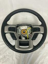 Oem 2017-2020 Ford F-250 F250 Black Steering Wheel With Controls And Sensor