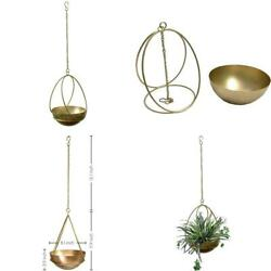 Abodeur Hanging Planter – Mid Century Modern Decor Wall Planters For Indoor Pl