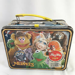 Vintage 1979 Muppets Lunch Box No Thermos Jim Henson