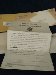 Wwii 1943 Honorable Discharge Paper And Others Nicholas Sottile Walthamma.