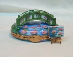 Limoges Hand-painted Trinket Box Collection Of 16 From France