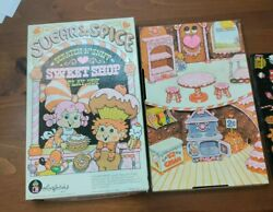 Vintage Sugar And Spice Sweet Shop Colorforms Play Set 1981 Used And Almost Complete