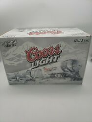 Mth Rail King Speciaity Set Coors Light Silver Bullet Train Set Proto-sound 2.0