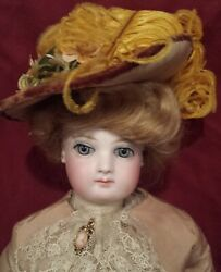 17 Inch French Fashion Gibson Girl Antique Doll
