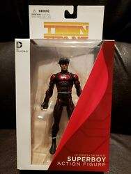 Dc Direct Collectibles New 52 Teen Titans Red Black Suit Superboy Figure Nip