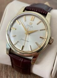 Omega Seamaster Automatic Vintage Menand039s Watch 1958 Serviced + Warranty