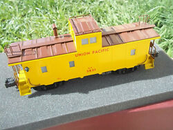 O Scale Brass 3 Rail Right-of-way Industries Union Pacific Caboose. 3821