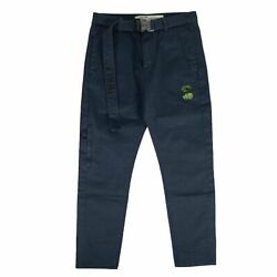 Nwt Off White C/o Virgil Abloh Blue And039straight Legand039 Pants Size 33 680