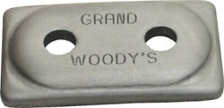 Woodyand039s Grand Master Two-hole Double Grand Digger Support Plates Adg-3775-250