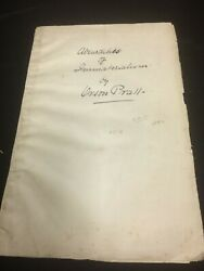 Absurdities Of Immaterialism By Orson Pratt 1849 Lds Mormon Rare Vintage Tract