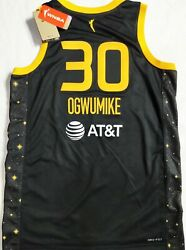 Nwt-44/m Nneka Ogwumike Los Angeles Sparks Authentic Victory Wnba Nike Jersey