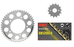 Rk 530 Xs O-ring Gold Chain Jt Sprockets For Honda Cbr 929rr 2000-01 16t/43t