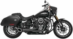 Turnout 2-into-1 Exhaust For Harley-davidson Fxbb Br Fb Lr 2018-2020