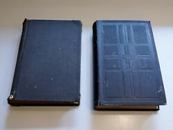 Lot 2 Antique 1907 German Hymnal 1934 Bible Luther Die Bibel Gesangbuch Old Maps
