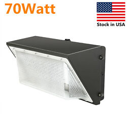 70w Led Wall Pack Light 5500k White Dusk To Dawn Street Light Wall Mounted Lamps