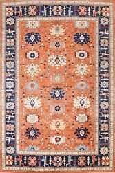 Classic Geometric Ziegler Oriental Area Rug Wool Hand-knotted Living Room 9and039x12and039