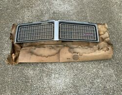 1975-76 Dodge Coronet Nos Grill 3781473 Oem Grille Front Chrome Cop Police Chp