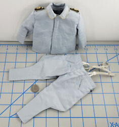 3r Wwii German Luftwaffe Officer Big Guy Uniform 1/6 Scale Toys Did Pants Tunic