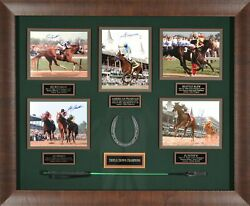 Triple Crown Champions Autographed Collection