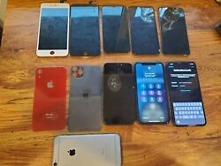Lot Iphones 11 Pro Max Iphone 11 Xr X 10 6+6 Good Lcd Screens And Glass 2