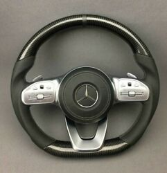 Mb G-class W 222 W217 W463a E C S G Cls Steering Wheel Carbon Leather
