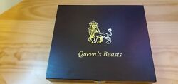 2016-2021 20 Oz Silver Great Britain Queenand039s Beast 2 Oz 10 Coin Set