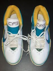 Nike Uptempo Pro Cp3 New Orleans Exclusive Promo Sample Pe Size 12.5 Game Wornandnbsp