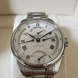 Longines Master Collection 4 Retrograde Day Date Guilloche Automatic Full Set