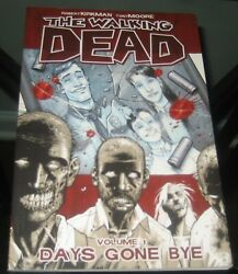 A-264 The Walking Dead Volume 1 Tpb Days Gone By, Image Comics Comic Book