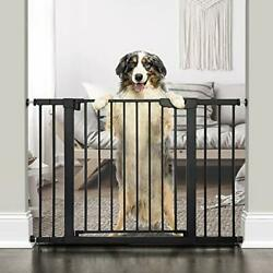 """Cumbor 46""""auto Close Safety Baby Gate, Extra Tall And Wide Child Gate, Easy Walk"""